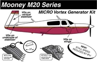 Mooney M20 Micro Vortex Generators