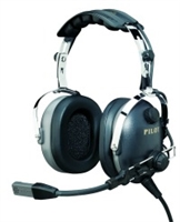 Pilot USA PA-1160AI/R Passive Headset for ICOM Right Angle Plug