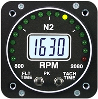 Electronics International R-1-N2 RPM Turboprop Instrument