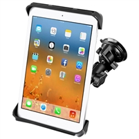 "10"" Tablet Ram Twist Lock Suction Cup Mount"