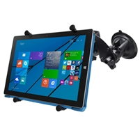 "12"" Tablet Ram Dual Articulating Suction Cup Mount"