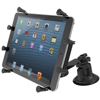 "10"" Tablet Ram Dual Articulating Suction Cup Mount"