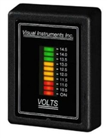 Visual Instruments Voltage Monitor 12 or 24 Volt FAA approved