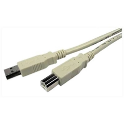 USB Cable - 6' for label printers