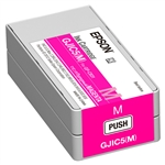 Epson GJIC5 (M) Magenta Ink cartridge for GP-C831 ColorWorks Printer