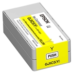 Epson GJIC5 (Y) Yellow Ink cartridge for GP-C831 ColorWorks Printer