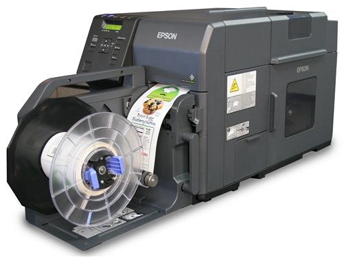 Epson ColorWorks C7500 Inkjet Label Printer