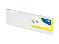 Epson SJIC30P(Y) Yellow replacement ink cartridge
