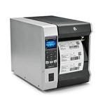 Zebra ZT610 Label Printer with optional Label Rewinder