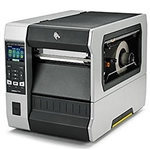 Zebra ZT620 Label Printer with optional Label Rewinder