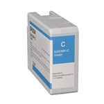 Epson SJIC35P(C) Cyan replacement ink cartridge