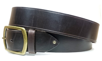 "1.5"" Leather Belt - Brown"