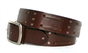 Double Weave Belt - Brown