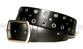 Rivets & Grommets Belt - Black