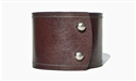 "2"" Wide Leather Cuff / Brown"