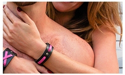 "3/4"" Breast Cancer Awareness Cuff"