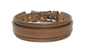 "Marquee 1"" Buckle Cuff - Light Brown Tan"