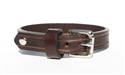 "Marquee 1/2"" leather bracelet - Brown"