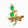 Elusive Dragonfly in Envious Emerald