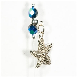 Starfish Wish in Black Velvet