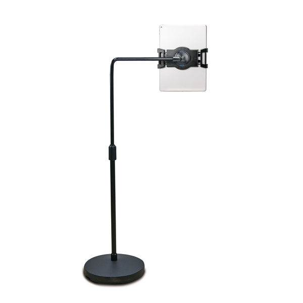 Ergo Floor Stand Artisan Designs : Tablet floor stand with extension arm for tablets up to