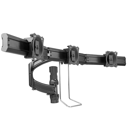 K4 Kontour Triple Monitor Wall Mount 2 Link Horizontal