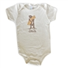 I Love You California Bear Baby Bodysuit