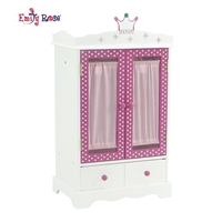 18-inch Doll Furniture - Armoire Closet - fits American Girl ® Dolls