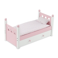 18-Inch Doll Furniture - Single Bed with Trundle - fits American Girl ® Dolls