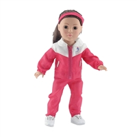 18-Inch Doll Clothes - Five-Piece Warmup Outfit - fits American Girl ® Dolls