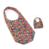 18-inch Doll Accessories - Multicolored Hearts Doll Carrier Bag plus Shopping Handbag and Chain - fits American Girl ® Dolls