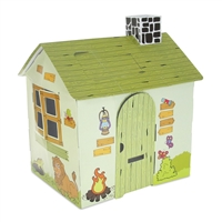 Dollhouse for 18-Inch Dolls - Full-Color Wild Safari Themed Play House - fits American Girl ® Dolls