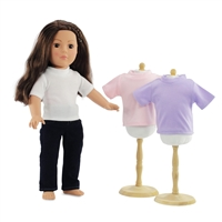 18-inch Doll Clothes - Skinny Jeans and Three Tee Shirts - fits American Girl ® Dolls