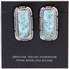 Larimar Earrings 060