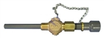 "3/4"" Standard Brass Body Retractable Corp Stop with CPVC Wetted Diffuser"