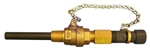 "1"" Standard Brass Body Retractable Corp Stop with PVC Wetted Diffuser"