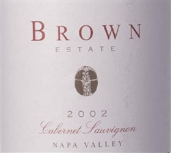 Brown Estate 2002 Napa Valley Cabernet Sauvignon