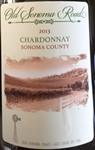 Old Sonoma Road 2013 Sonoma County Chardonnay