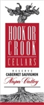 Hook or Crook Cellars 2017  Napa Valley Reserve Cabernet Sauvignon 750ml