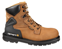 "Carhartt 6"" Bison Brown Safety Toe Work Boot"