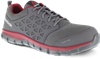 Reebok Sublite Cushion Work Alloy Toe Red and Gray