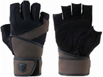 Harbinger Men's Training Grip Glove With Wristwrap