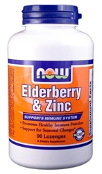 NOW Foods Elderberry & Zinc