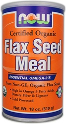 NOW Foods Flax Seed Meal