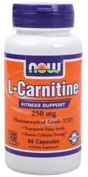 NOW Foods L-Carnitine 250mg