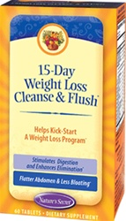 Nature's Secret 15-Day Weight Loss Cleanse & Flush