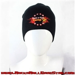 Stretch Beanie with Rock-n-Roll GangStar logo