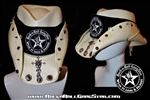 Custom Shapeable Cowboy Hat white version 2 Rock and Roll Heavy Metal hats accessories
