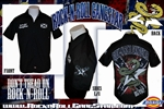 Don't Tread On Rock n Roll Dickies Work Shirt Heavy Metal Rock and Roll Clothing