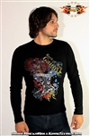 Guitar Cross Mens Thermal